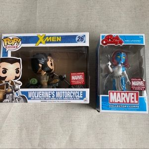 Funko X-Men Bundle Wolverine and Mystique